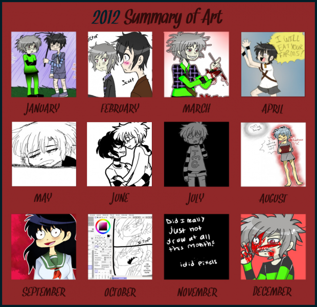 End of 2012 Art