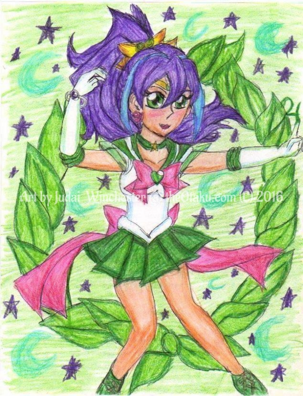 Serena as Sailor Jupiter