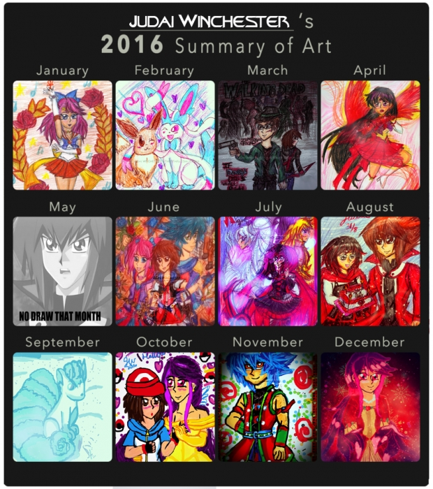 Judai's 2016 Draw Summary