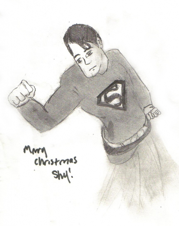 Merry Chrismas Shy - Superman