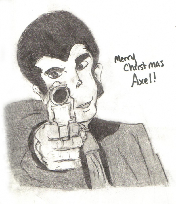 Merry Christmas Axel - Lupin