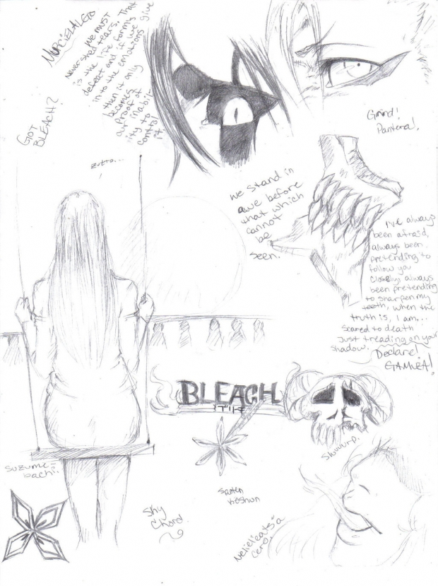 Bleach Sketches 1