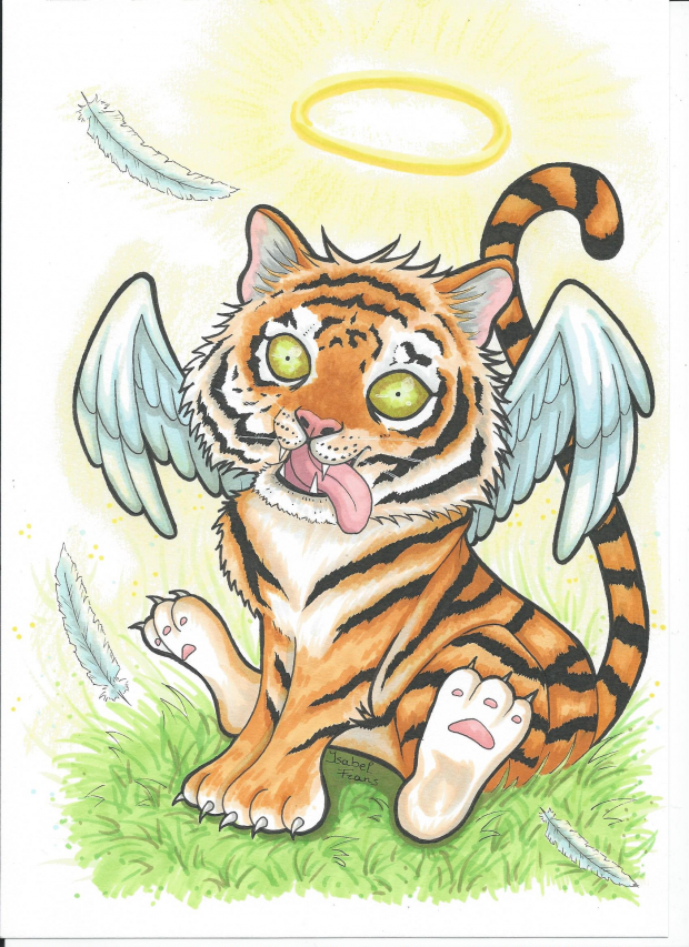 Tiger angel