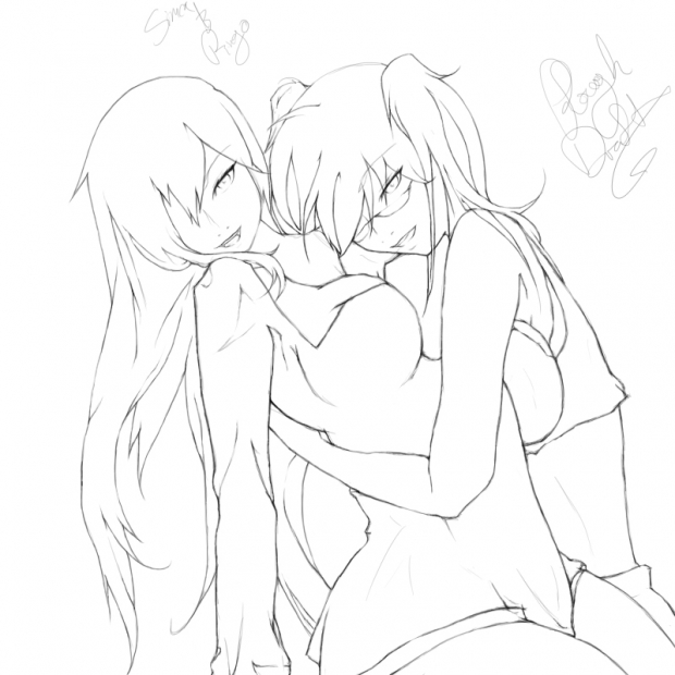 Line Art for Simca & Ringo Request