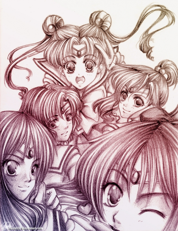 sailor moon group pic