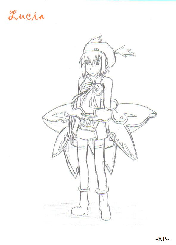Lucia lineart