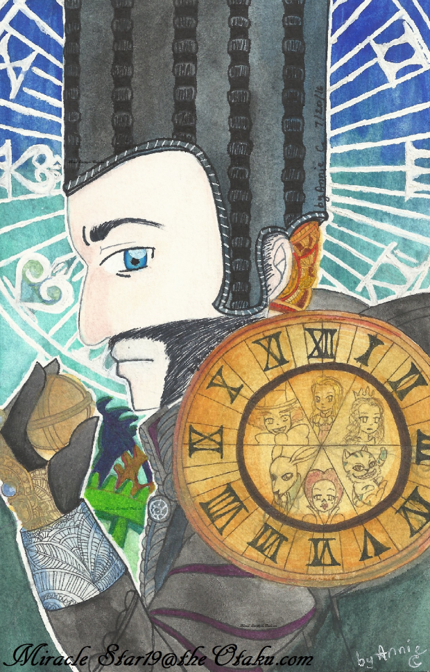 ~Time~ from Alice through the looking glass