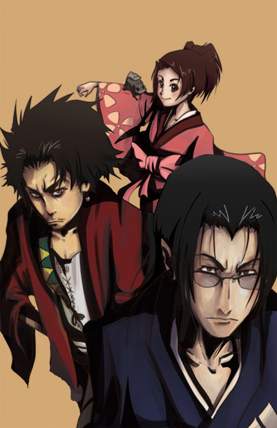 samurai Champloo Fan Art WIP 1