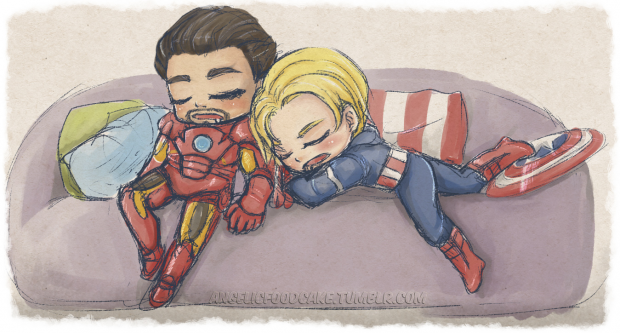 Even the mightiest heroes need to sleep