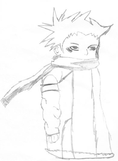 Child With Big Scarf