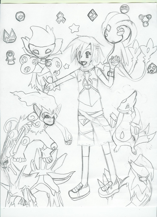 Me and My pokemon!-Sinnoh Edition