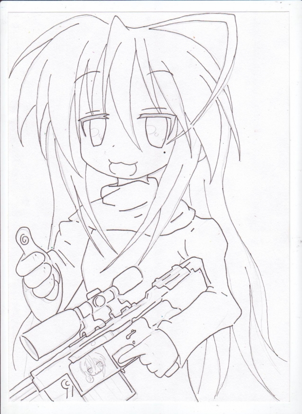 Konata the Sniper