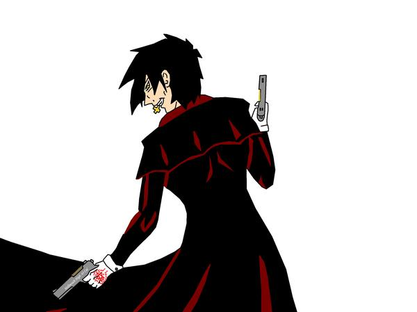 This Is My First Drawing Of Alucard