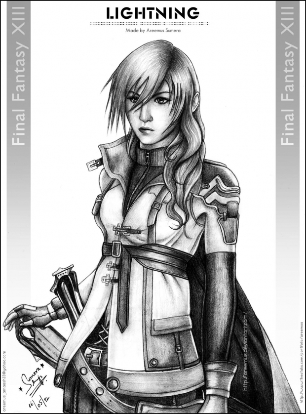 Lightning from FF XIII