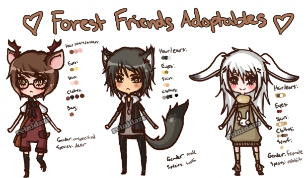 Forest Friend Adoptables