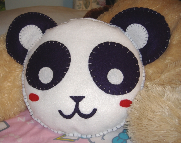 Stuffed Panda Pillow