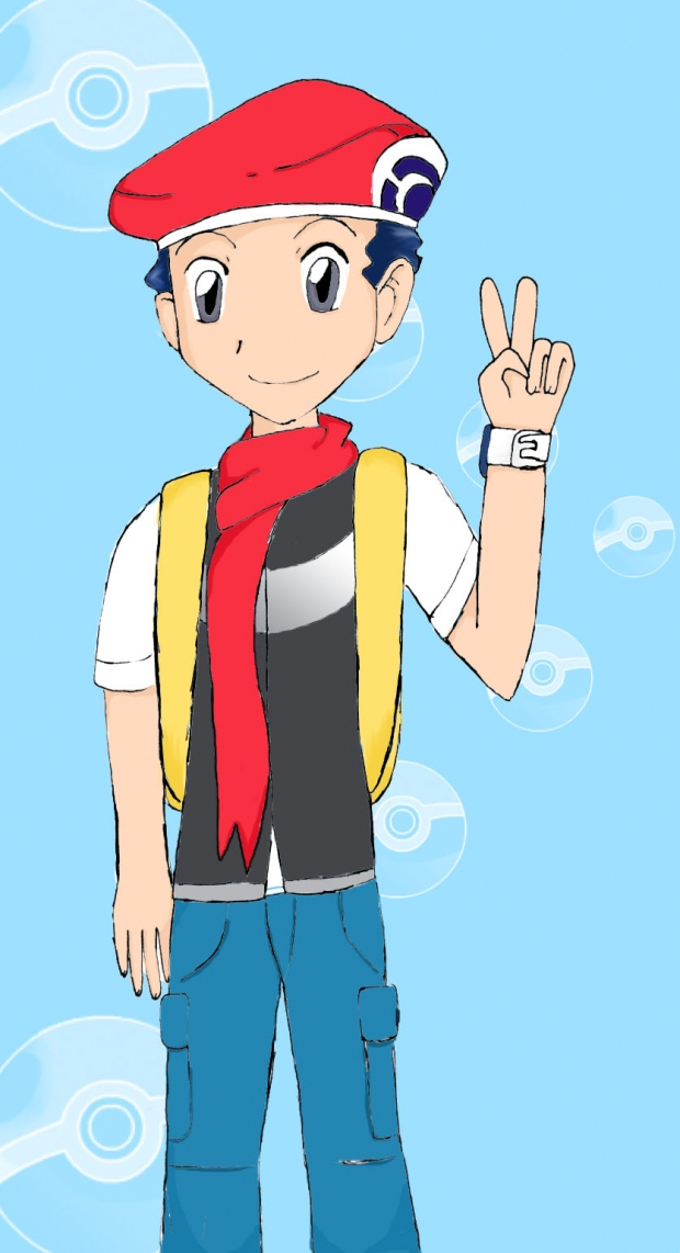 Pokemon Trainer Lucas