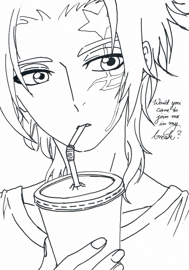 Join me lineart