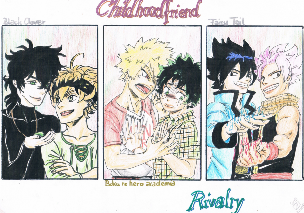 Childhoodfriend rivalry