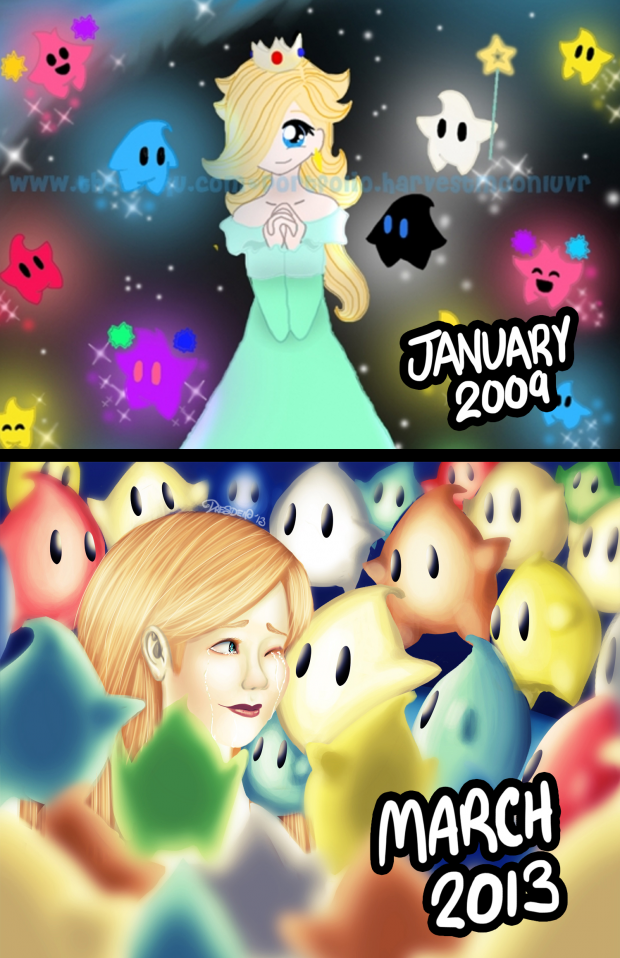 Progress; Rosalina