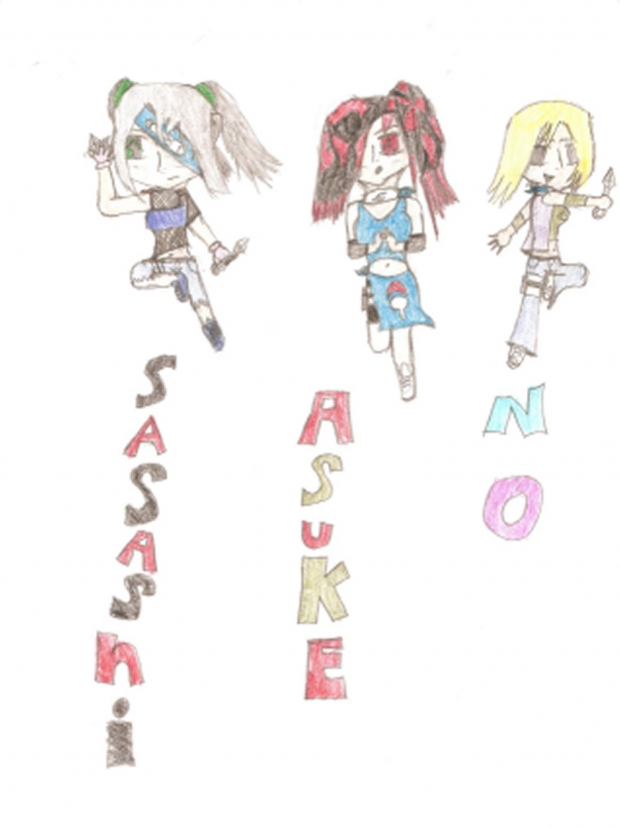 Sasashi, asuke, and No