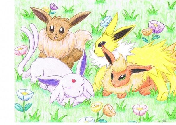 Eevee and Friends part 1 final