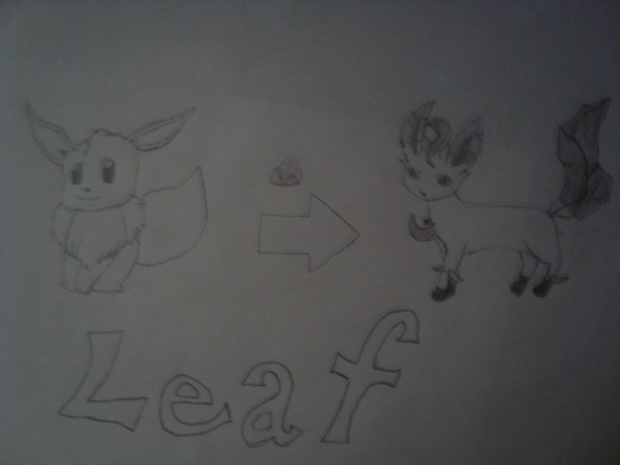 Leaf for Pokemon Amber