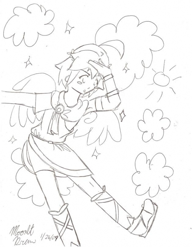 Pit lineart for Harvestmoonluvr