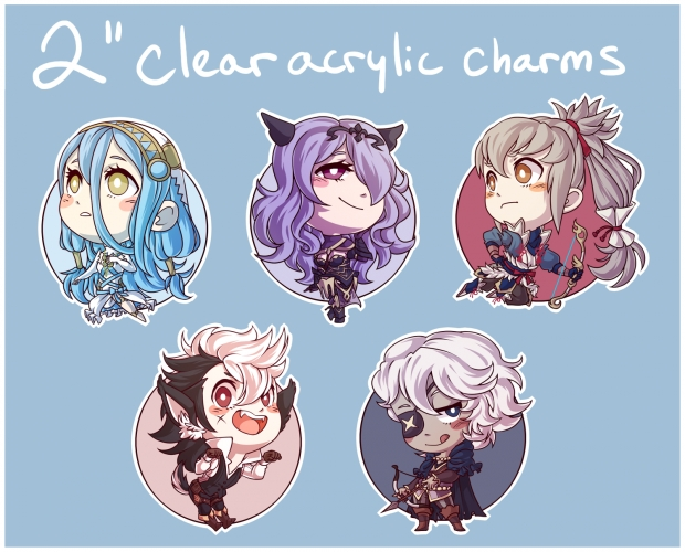 Fire Emblem: Fates charms