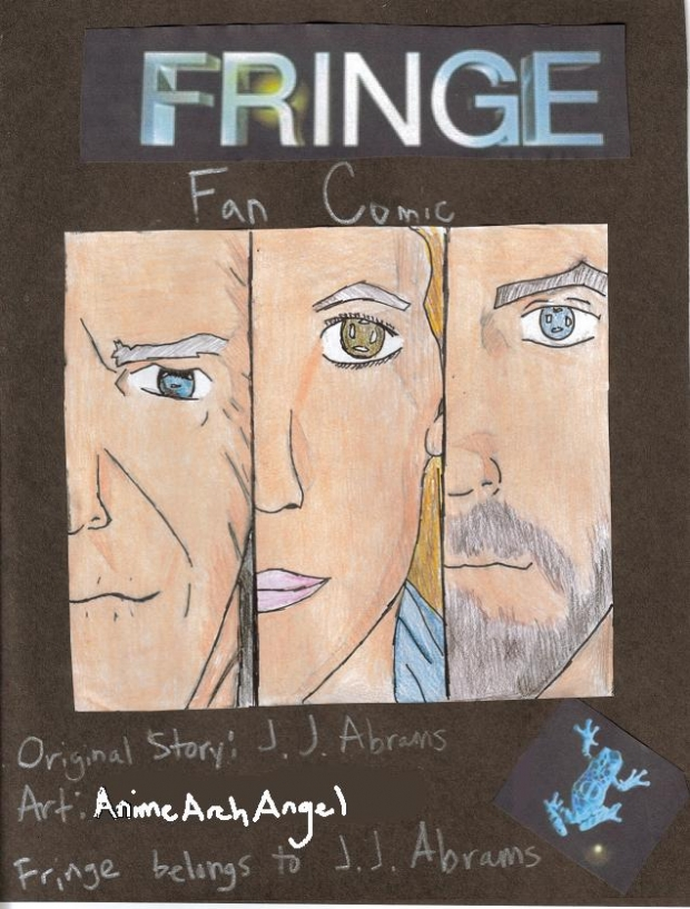 Fringe: The Fan Comic: The Cover