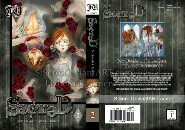 Sacred, vol.2- Cover