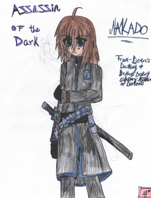 Demon's Destiny OC: Nakado