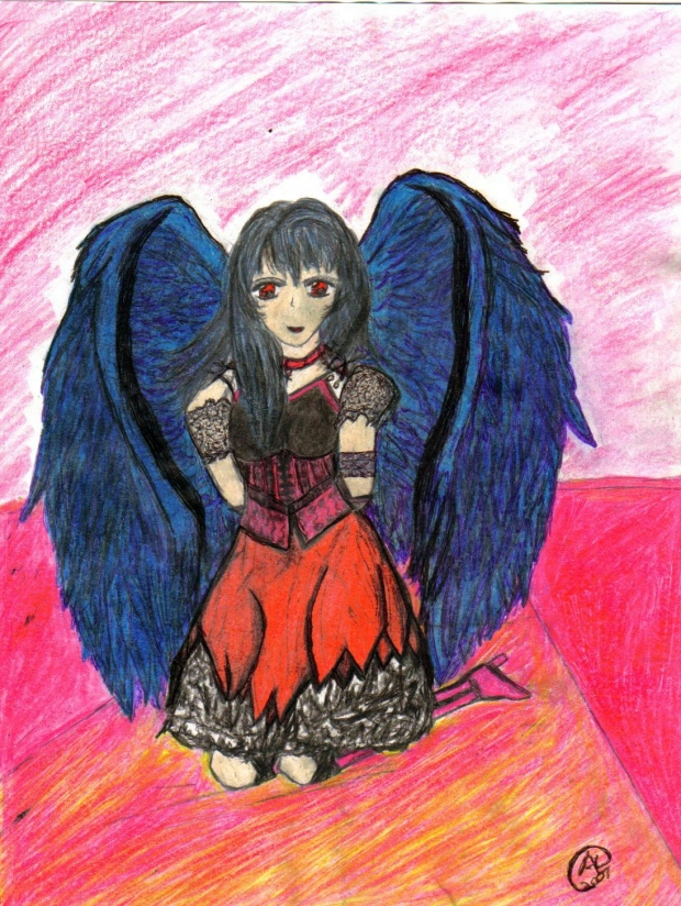 Angel from the darkness