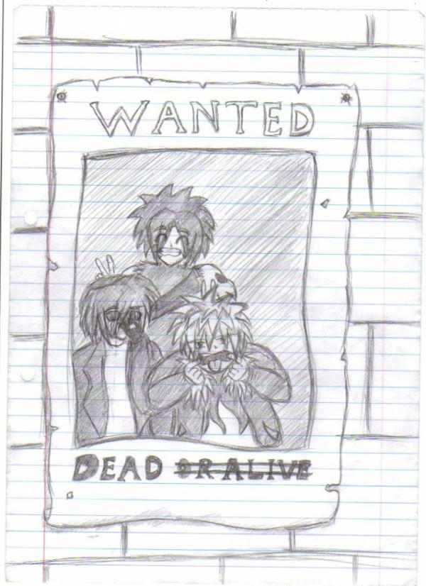 wanted poster :P