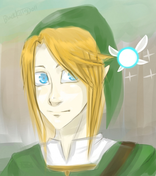 Legend of Zelda - Link and Navi