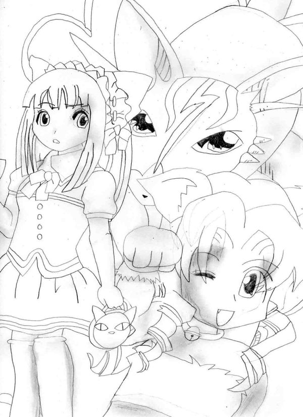 Magical Cat Girl Cover