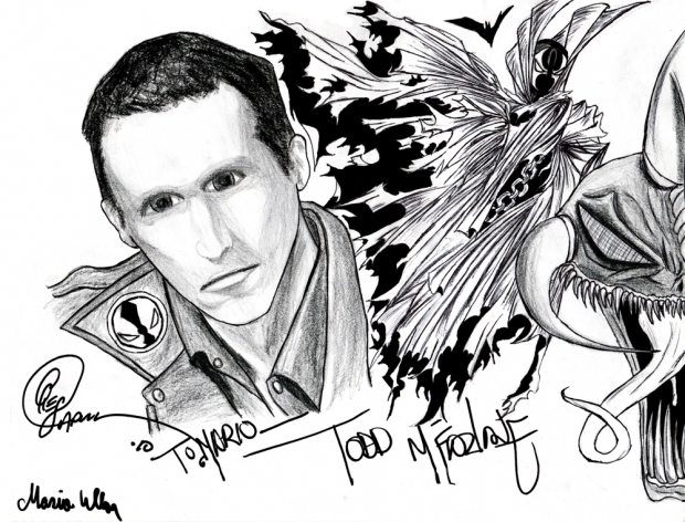 Todd Mcfarlane and Greg Capullo autographes