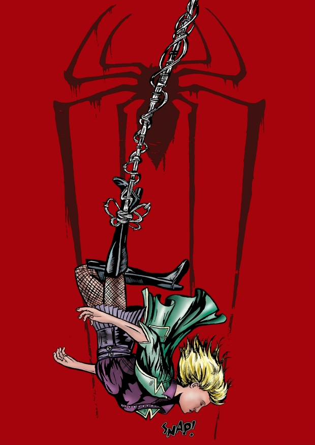 Death of Gwen Stacy Colored