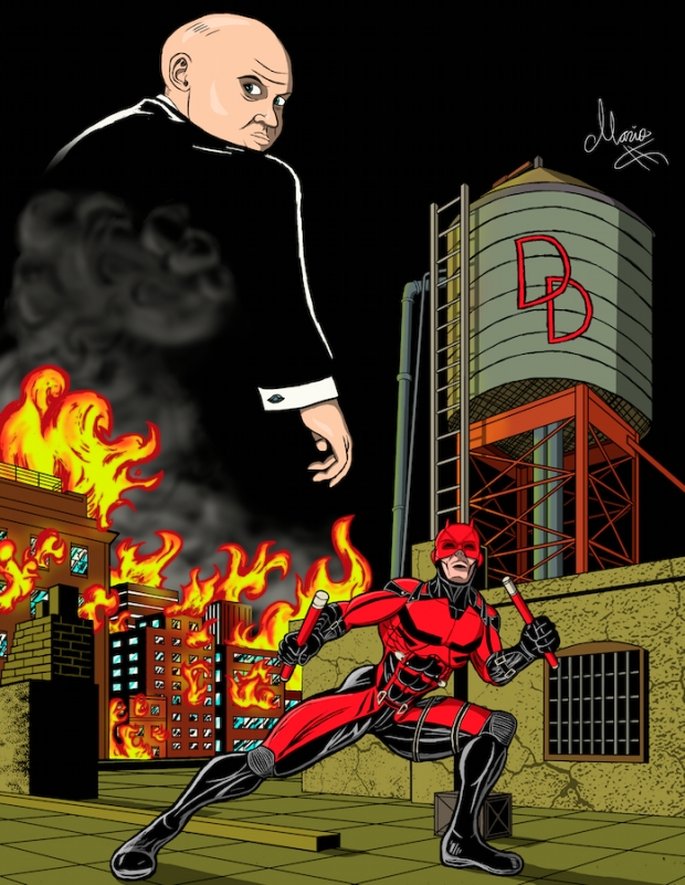 NetFlix's Daredevil Colored