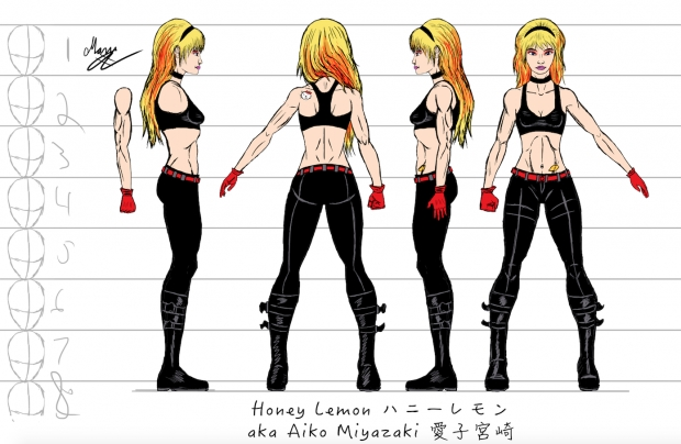 Honey Lemon Character Sheet #3