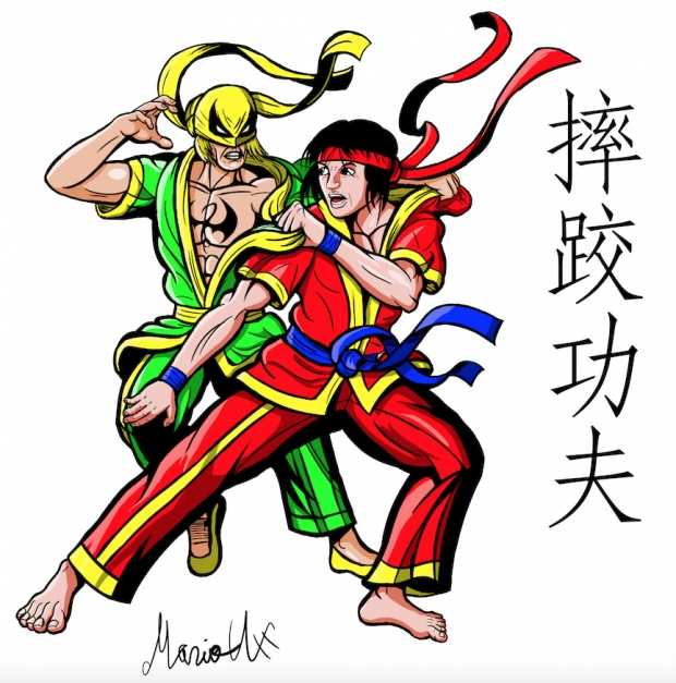 Shuai Jiao Iron Fist and Shang Chi Colored