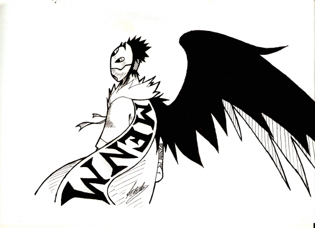 One-Winged Masked Man