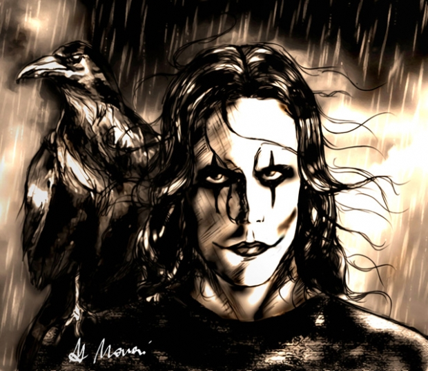 the crow can not rain forever
