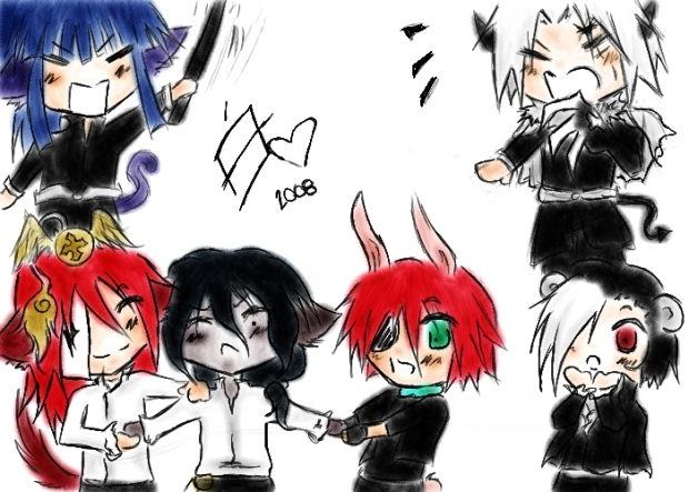 Exorcists Chibi-fied