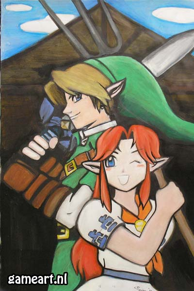 Link and Malon
