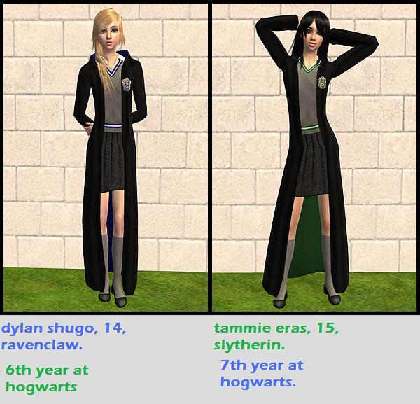 second sims 2 versions OCs!