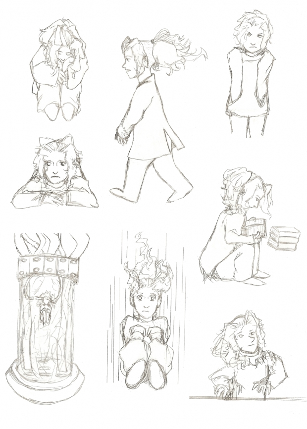 (Child) Terra sketches