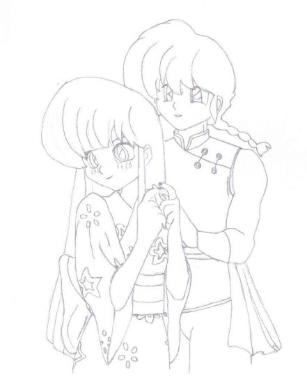 Ranma Couples, Ukyo and Ranma