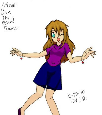 Naomi Oak the Blind Pokemon Trainer