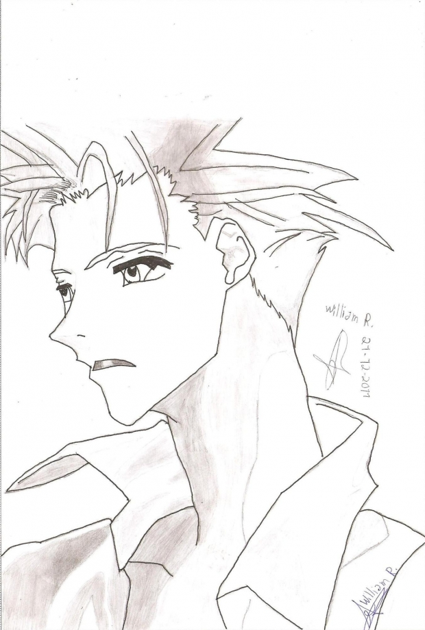 Ginji Amano (nanquim) - William R.